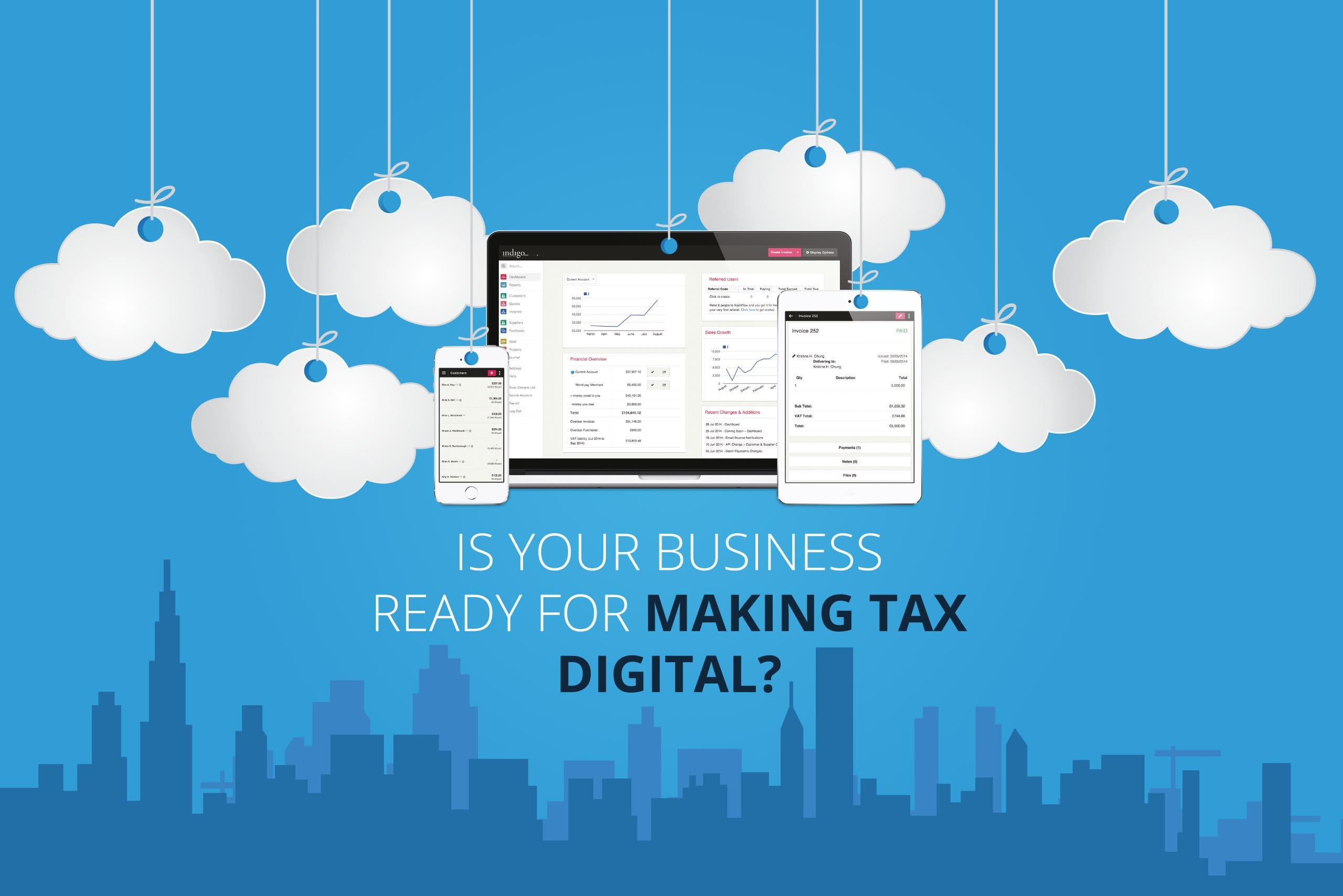 Making Tax Digital - Cloud Accountants Horsham, West Sussex