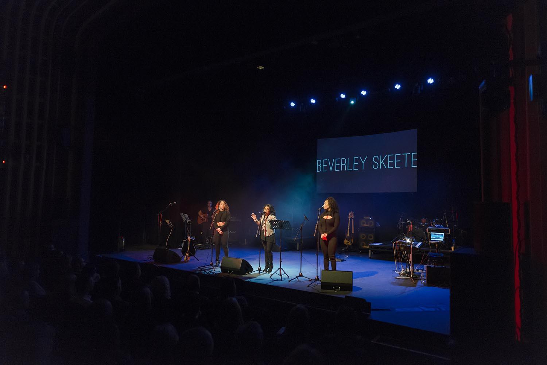 Beverley Skeete singing at Indigofest 2018