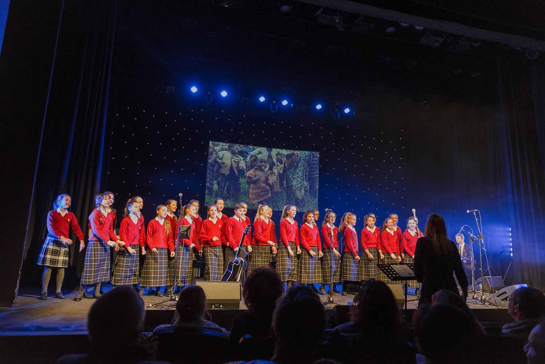 Hurstpierpoint College Choir at Indigofest 2018